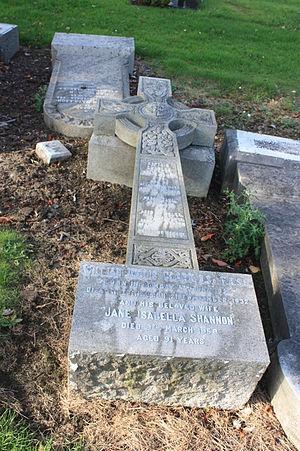 William Inglis Clark - The grave of William Inglis Clark, Liberton Cemetery, Edinburgh