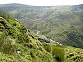 The hillside above Afon Goch with Yr Aryg beyond - geograph.org.uk - 934643.jpg