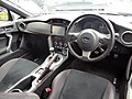 The interior of Subaru BRZ S (DBA-ZC6) with optional parts.jpg