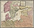 The seat of war in ye North, or a map of the Baltick, with part of the North Sea ... posture of affaris (8342500993).jpg