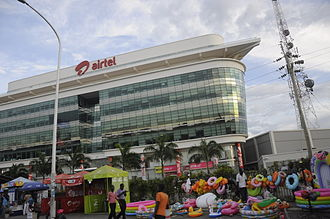 Bharti Airtel - Airtel office in Dar es Salaam, Tanzania