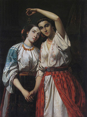Focșani - The Union of the Principalities, Theodor Aman, 1857