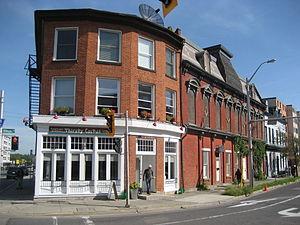 King Street (Dundas, Hamilton, Ontario) - Thirsty Cactus/ Masonic Hall