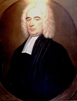 Thomas Pardo - Pardo's portrait in the college hall