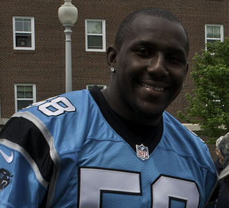 Thomas Davis Sr. - Davis with the Carolina Panthers in 2014