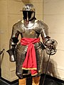 Three-quarter armor for cuirassier, Augsburg, 1620-1625, with Pappenheimer sword-rapier, northern Europe, circa 1625-1650 - Higgins Armory Museum - DSC05605.JPG