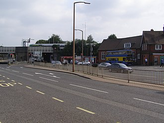 Three Bridges railway station - Image: Three Bridges Railway Station mrh 06