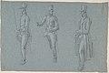Three studies on a man on a saddle MET DP810286.jpg