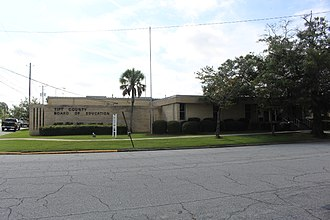 Tift County, Georgia - Tift County School District headquarters