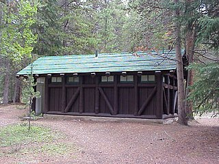 Timber Creek Campground Comfort Stations United States historic place