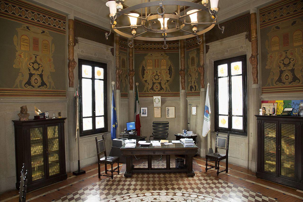File tito chini stanza del sindaco for Decorazione wikipedia