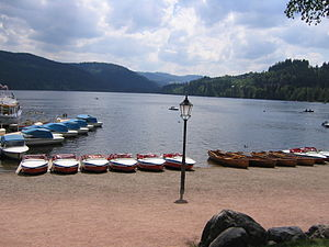 Titisee-Neustadt - Titisee (north shore)