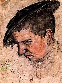 Tobias Stimmer Selbstbildnis c1563.jpg