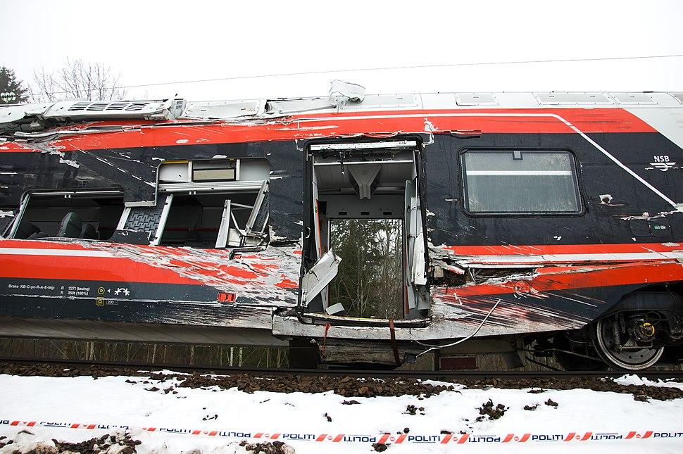 Togvrak Nykirke Vestfoldbanen 2