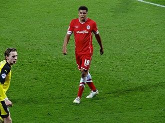 Tom Adeyemi - Adeyemi playing for Cardiff City in 2015