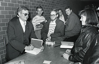 Ghostwriter - The popular demand for Tom Clancy's action novels exceeded his ability to write new books. As a result, his publisher hired ghostwriters to write novels in the Clancy style.