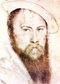 Sir Thomas Wyatt portréja.
