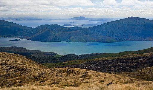 Tongariro alpine crossing view