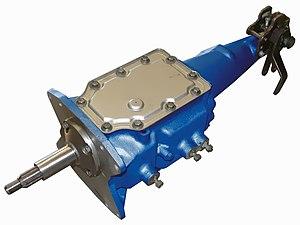 Ford Toploader transmission - Image: Toploader 4speed Transmission