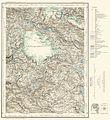 Topographic map of Norway, D33 vest Hardangerjøkulen, 1932.jpg