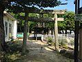 Torii of Iminomiya Shrine near Yokomakura-Shoji Street.JPG