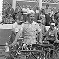 Tour de France , in Charleroi, de Fransman Joseph Thomin (Frankrijk-West, nr.80), Bestanddeelnr 908-7399.jpg