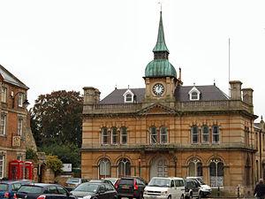 Towcester - Image: Towcester Town Hall