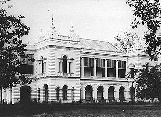 Victoria Theatre and Concert Hall - Town Hall, Singapore - ca. 1880