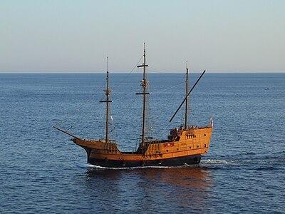 """""""Pirate's ship"""" in Dubrovnik, Croatia"""