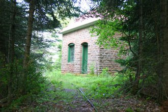 Devils Island (Wisconsin) - Devils Island Tramway Engine House