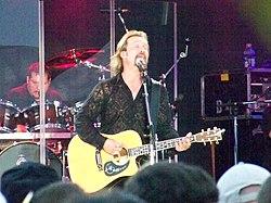 Travis Tritt at Celebrate Virginia Live, 2009