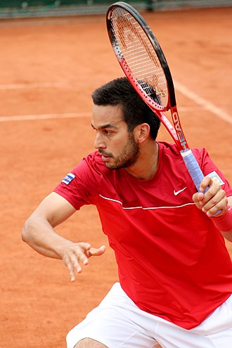 Treat Huey - Huey at the 2013 French Open