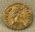 Tremisse di teodrico a nome di anastasio, 493-518, da cialla (prepotto).jpg