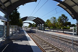 Trinity Mills station - Image: Trinity Mills Station September 2015 3