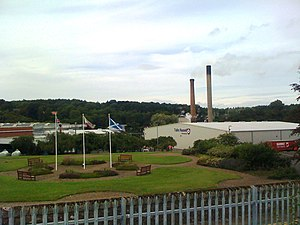 Glenrothes - Tullis Russell Papermills in 2010