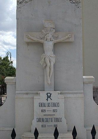 Creel-Terrazas Family - Tomb of Don Luis Terrazas and his wife, Carolina Cuilty de Terrazas, in Chihuahua.