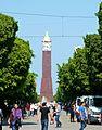 Tunis, Tunezja, wieża zegarowa na Placu 7 Listopada - panoramio.jpg
