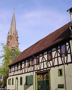 Eisenberg, Rhineland-Palatinate - Image: Turm evangelische Kirche Eisenberg
