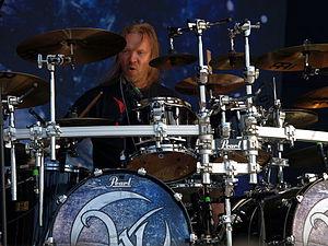 Kai Hahto - Kai with Wintersun at the 2013 Tuska Open Air Metal Festival