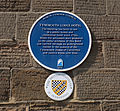 Tynemouth Lodge Hotel plaque (7282135526).jpg