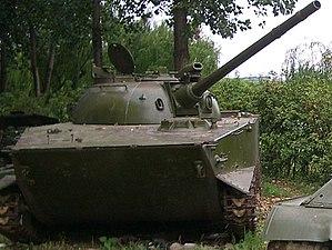 Type 63 (tank) - Type 63-2 Amphibious tank.