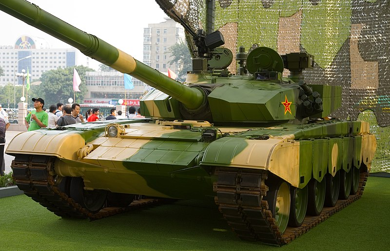 Contrary to the previous Chinese PLA models, the type 99 is not meant to be exported for security reasons and staggering costs alike. wikimedia commons