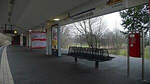 Scharnweberstraße (Berlin U-Bahn) - Platform view
