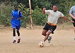 U.S., Senegalese service members build partnership through soccer 141125-A-UV471-003.jpg