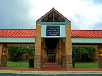 United States Air Force School of Aerospace Medicine - USAFSAM from 1996 through 2011.  Building 775 located on Brooks AFB