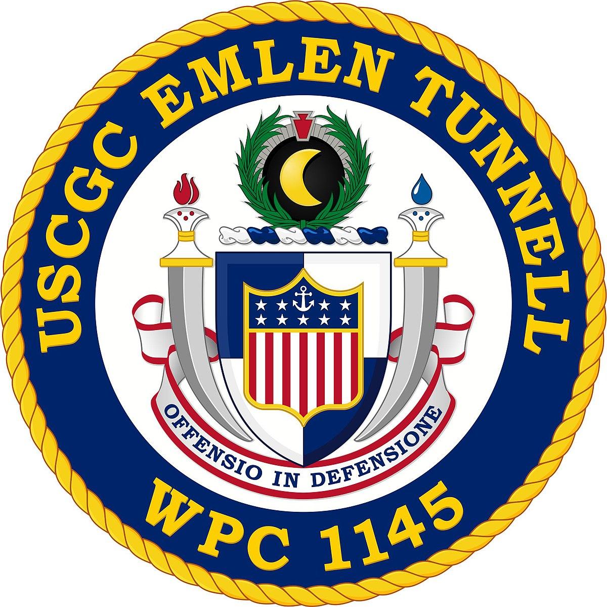USCGC Emlen Tunnell Unit Logo