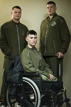 300px USMC running suit Purple Hearts Mistakingly Sent To Dead Marines