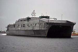 USNS Spearhead (T-EPF-1) - Image: USNS Spearhead (JHSV 1) 6
