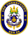 USS Connecticut (SSN-22) crest.png