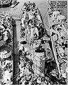 USS Ellet (DD-398), USS Owen (DD-536) and USS Miller (DD-535) at the Mare Island Naval Shipyard, California (USA), on 29 August 1945.jpg